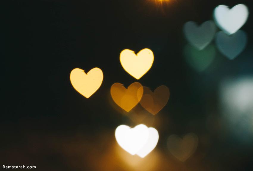 صور قلوب رومانسية