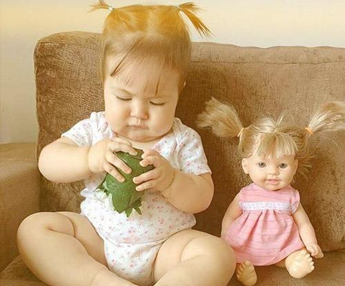 صورة طفلة يبانية