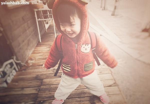 صورة طفل يباني