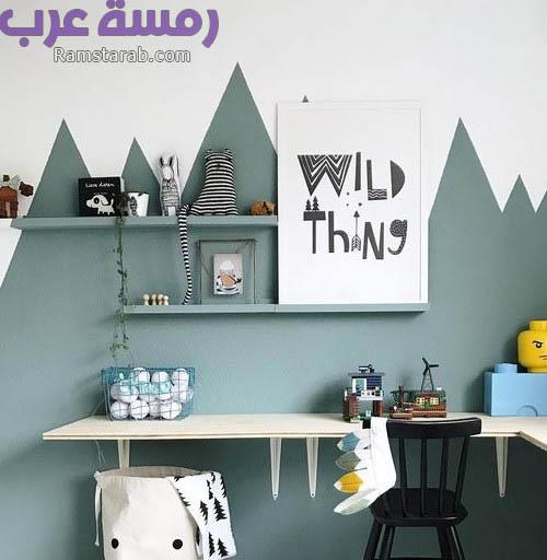 ديكورات الحائط لغرف الاطفال