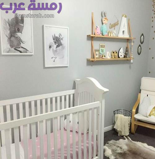 ديكورات حائط غرف اطفال