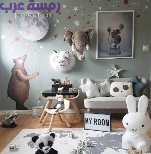 رسومات حوائط للاطفال