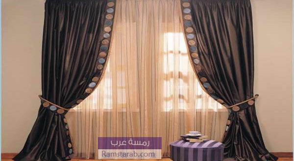 تشكيلة صور ستائر مودرن اجمل اشكال ستائر جديدة رمسة عرب