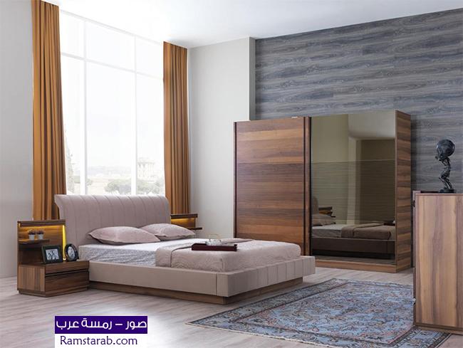 صور غرف نوم مودرن كاملة مكتبة صور غرف مجددة رمسة عرب