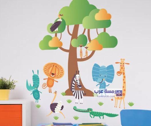 افكار لديكور غرف الاطفال