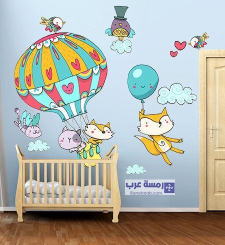 حائط غرفة اطفال