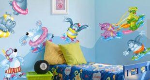 حوائط غرف اطفال 3d