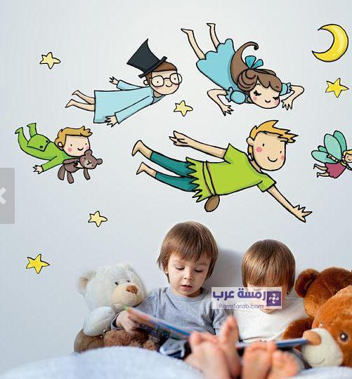 رسومات حوائط غرف الاطفال 2018