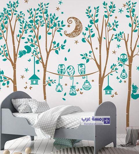 رسومات حوائط غرف الاطفال