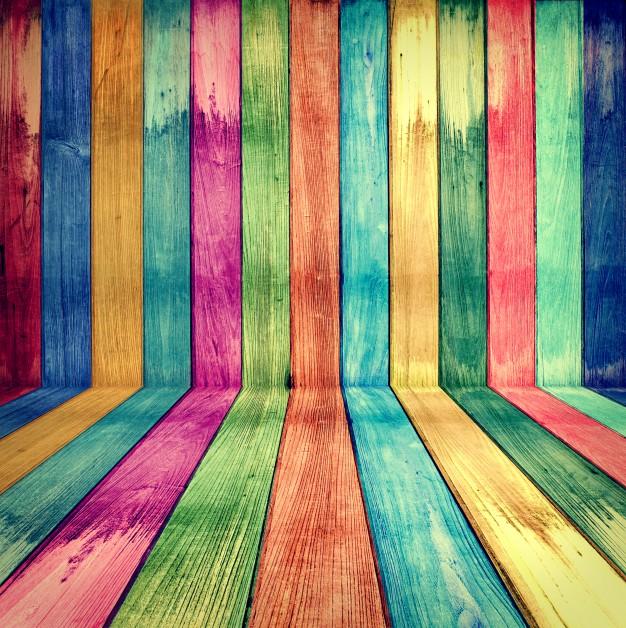 الوان خشب جميل