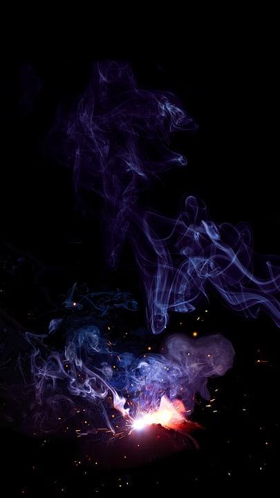 خلفيات سوداء دخان
