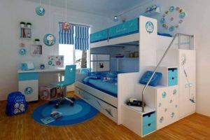 غرف نوم اطفال مودرن3