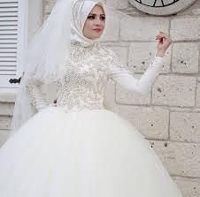 فساتين زفاف محجبات15