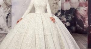 فساتين زفاف محجبات2