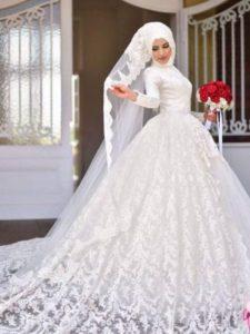 فساتين زفاف محجبات22