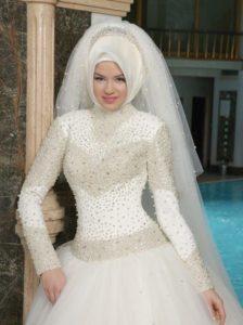 فساتين زفاف محجبات25