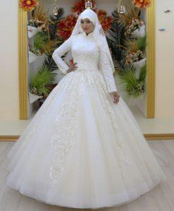 فساتين زفاف محجبات29