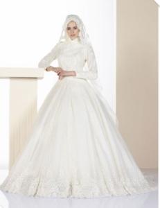 فساتين زفاف محجبات30