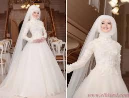 فساتين زفاف محجبات9