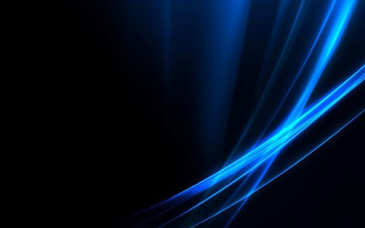 خلفيات زرقاء بجودة عالية