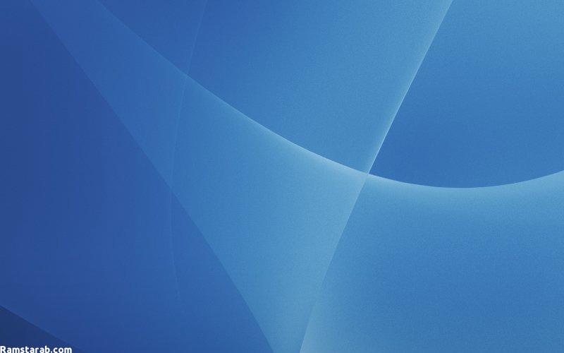 خلفيات زرقاء لسطح المكتب 3