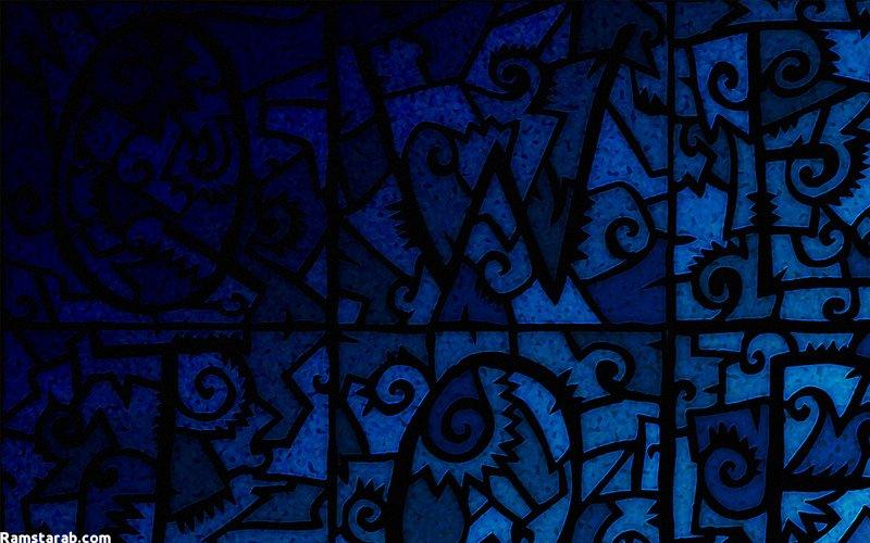 خلفيات زرقاء 11