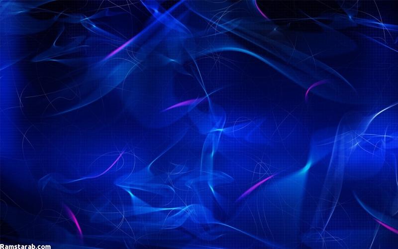خلفيات زرقاء 8