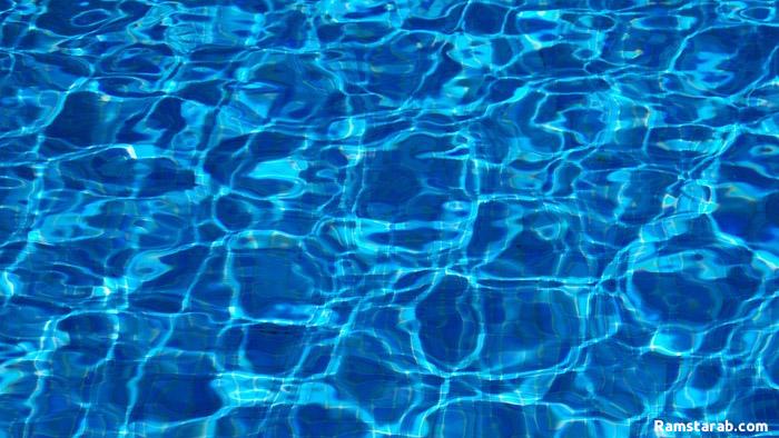 خلفية مياة زرقاء