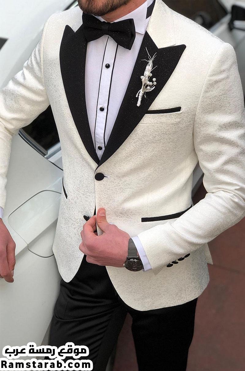 بدلة زفاف بيضاء 2