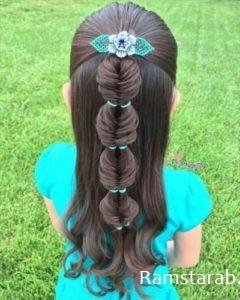 تسريحات شعر بنات14