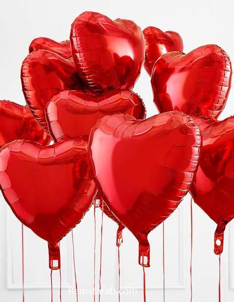 قلوب حمراء جميلة جدا