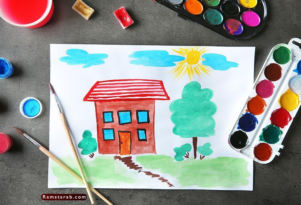 رسم اطفال4