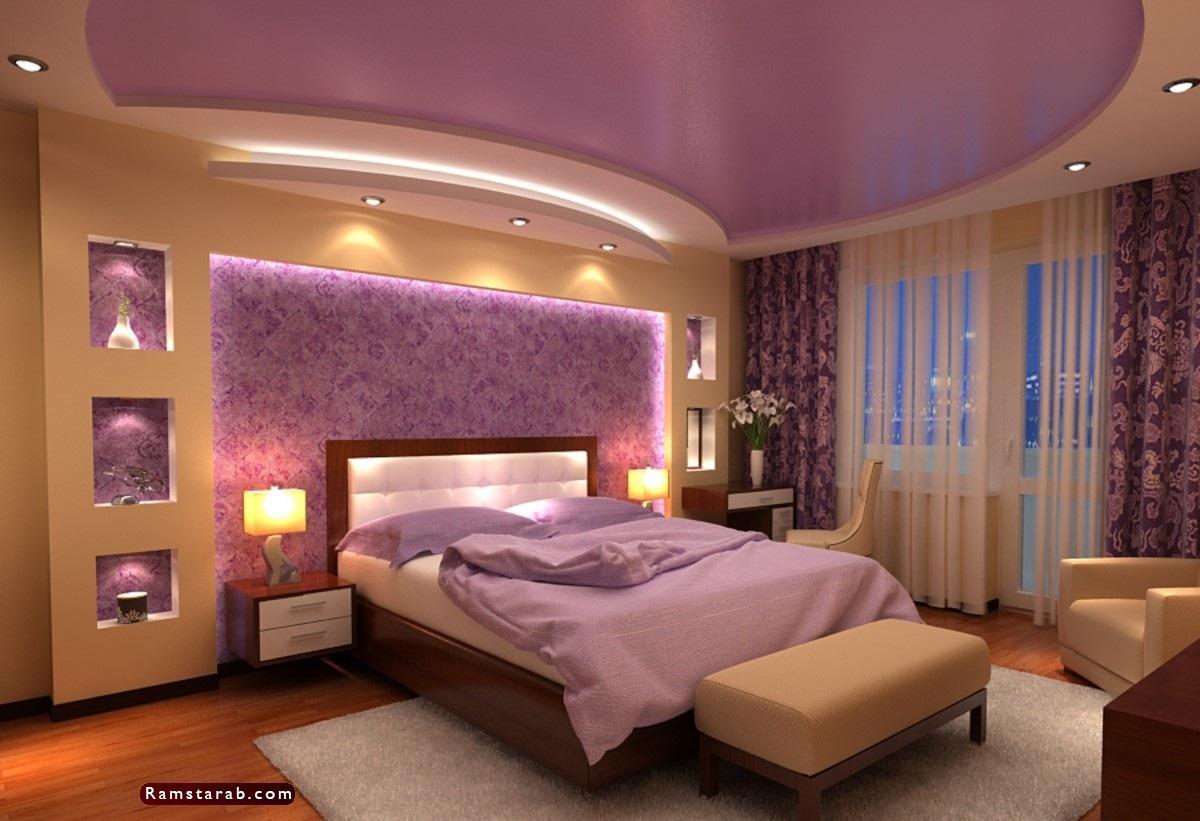 ديكورات جبس لغرف النوم8