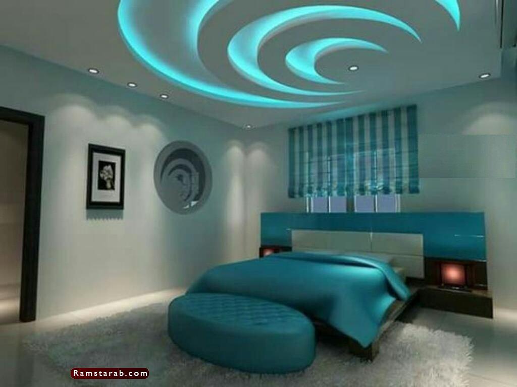 ديكورات جبس لغرف النوم3