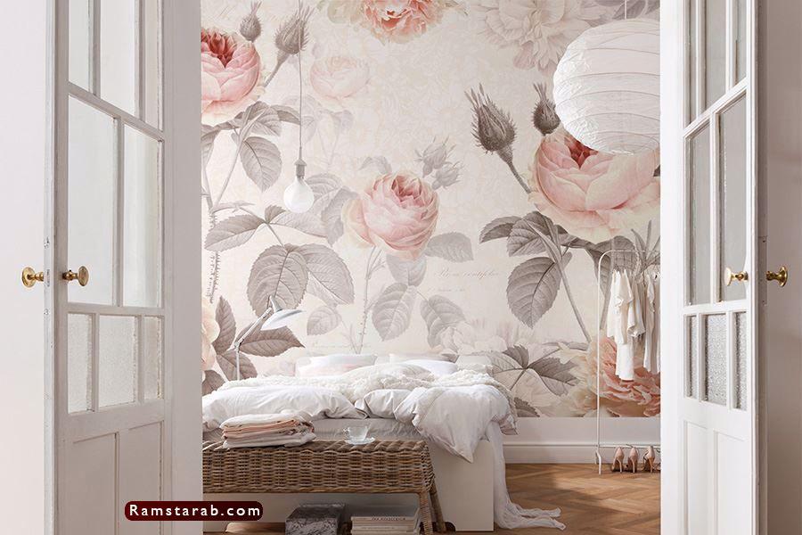 ورق حائط غرف نوم25