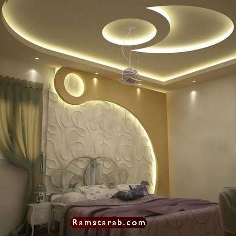 ديكورات جبس لغرف النوم36
