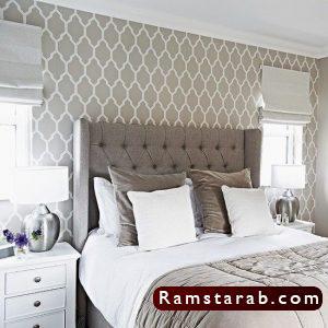 ورق حائط غرف نوم29