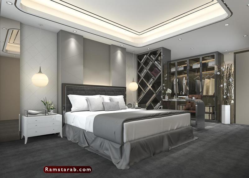 ديكورات جبس لغرف النوم31