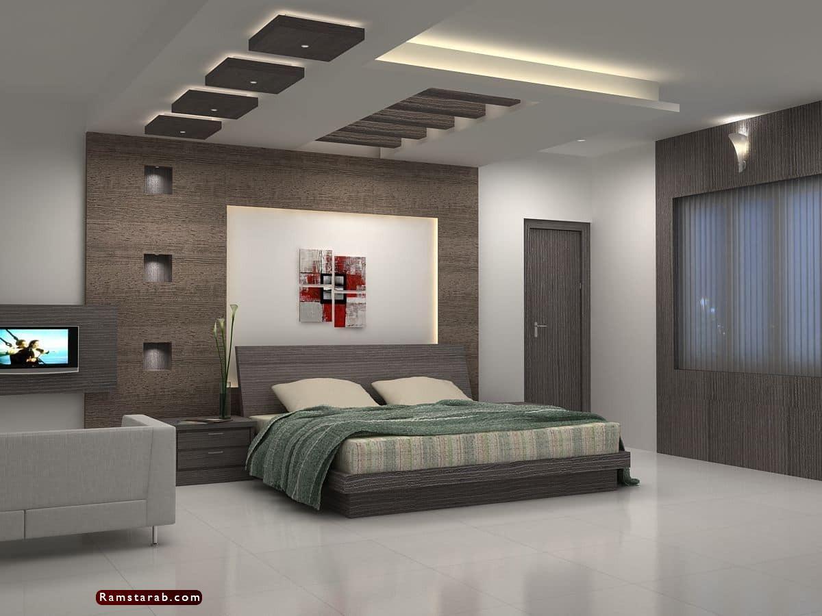 ديكورات جبس لغرف النوم35
