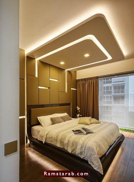 ديكورات جبس لغرف النوم29