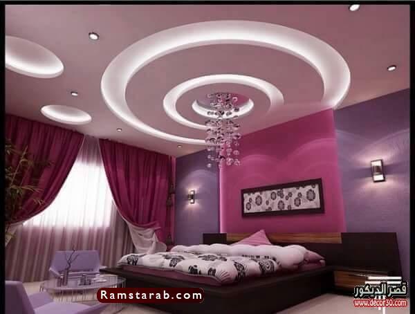 ديكورات جبس لغرف النوم22