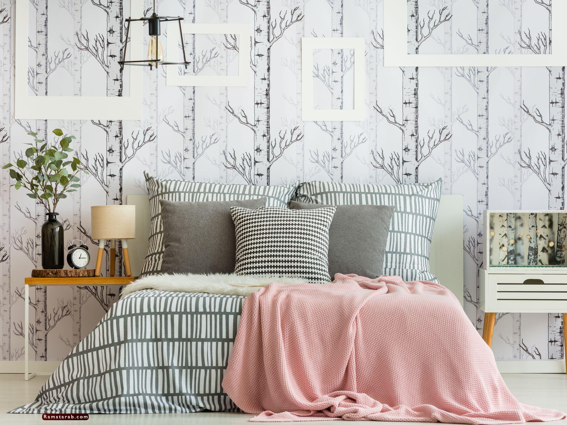 ورق حائط غرف نوم14
