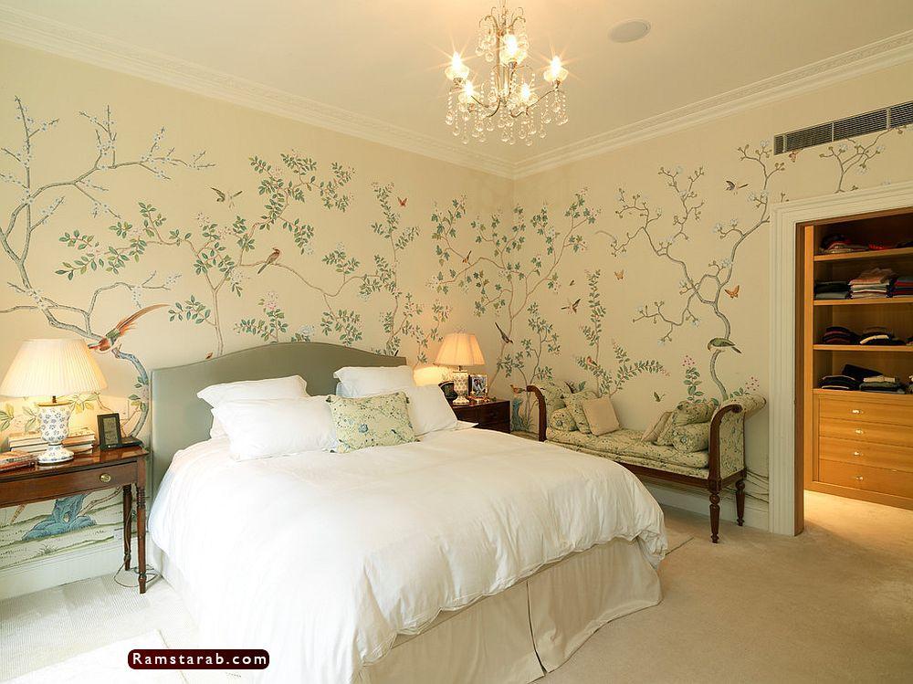 ورق حائط غرف نوم13
