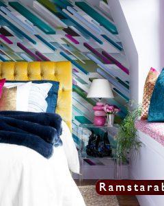 ورق حائط غرف نوم8