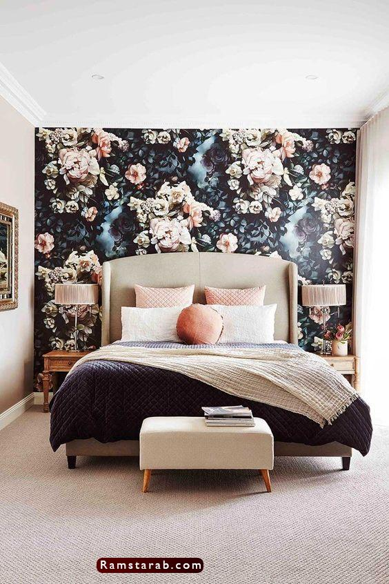 ورق حائط غرف نوم22