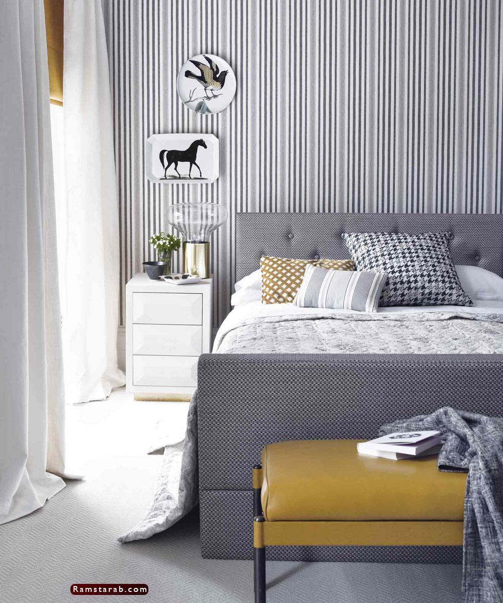 ورق حائط غرف نوم12