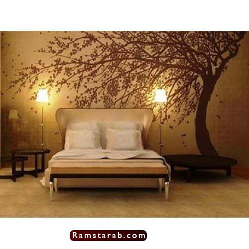 ورق حائط غرف نوم9