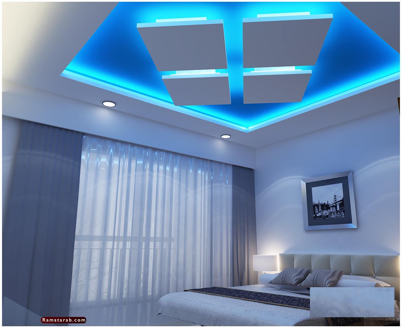 ديكورات جبس لغرف النوم14